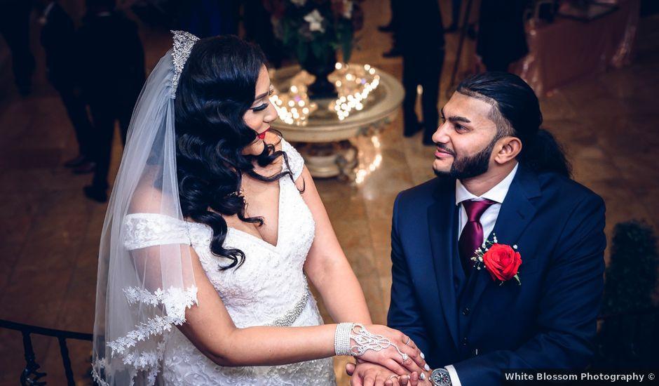David and Daniella's wedding in Mississauga, Ontario
