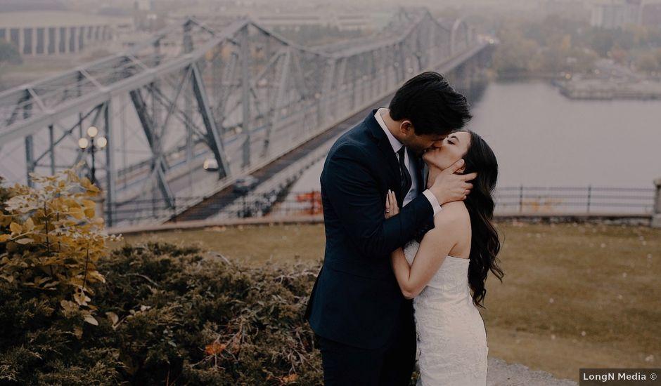 David and Grace's wedding in Ottawa, Ontario