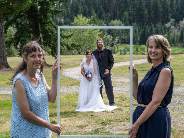 Rochelle and Nathan's wedding in Logan Lake, British Columbia 4
