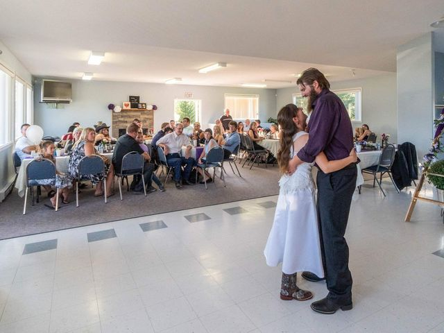 Rochelle and Nathan's wedding in Logan Lake, British Columbia 12