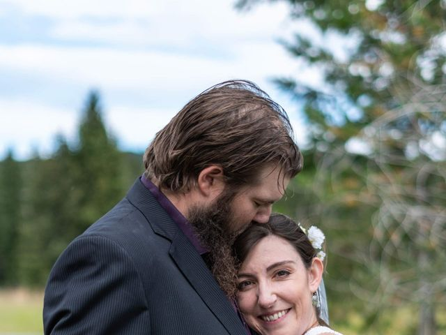 Rochelle and Nathan's wedding in Logan Lake, British Columbia 13