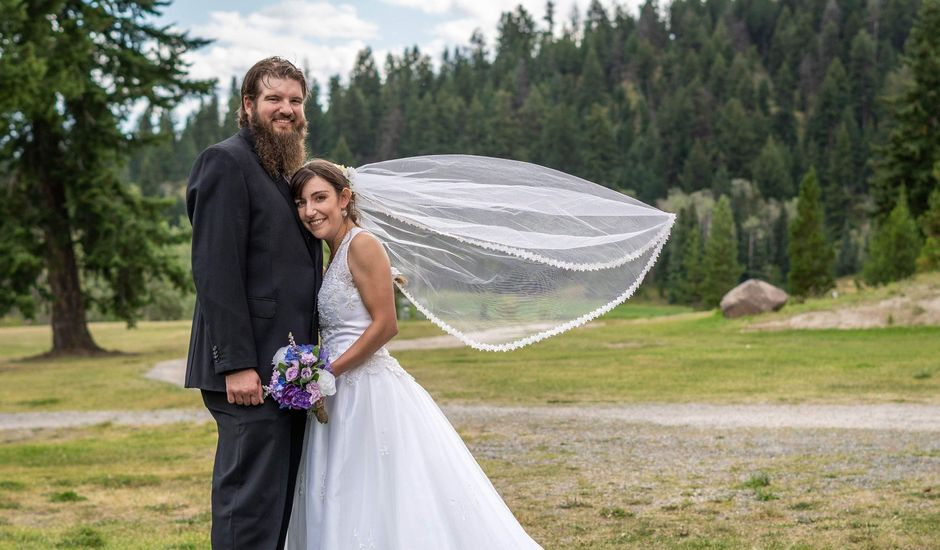 Rochelle and Nathan's wedding in Logan Lake, British Columbia
