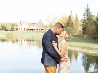 The wedding of Kate and Chris