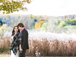 The wedding of Veronica and Brett
