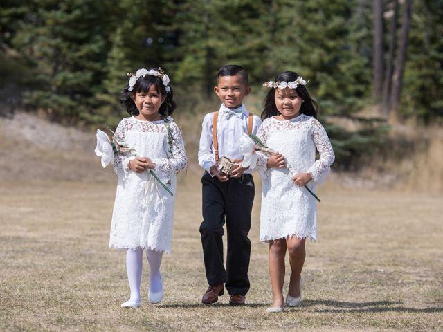 Benjamin and Katrina's wedding in Banff, Alberta 14