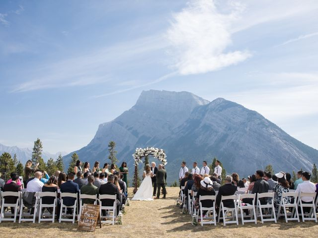 Benjamin and Katrina's wedding in Banff, Alberta 1