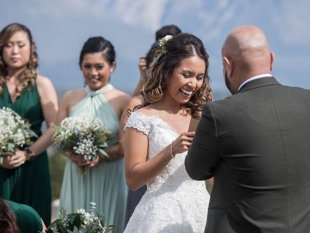 Benjamin and Katrina's wedding in Banff, Alberta 17