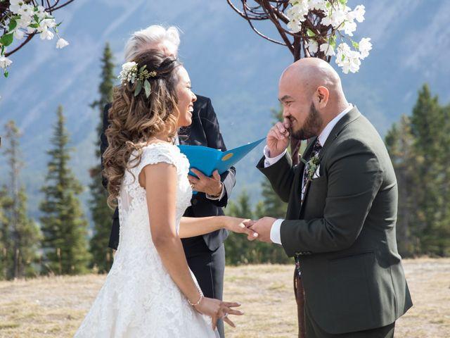 Benjamin and Katrina's wedding in Banff, Alberta 21