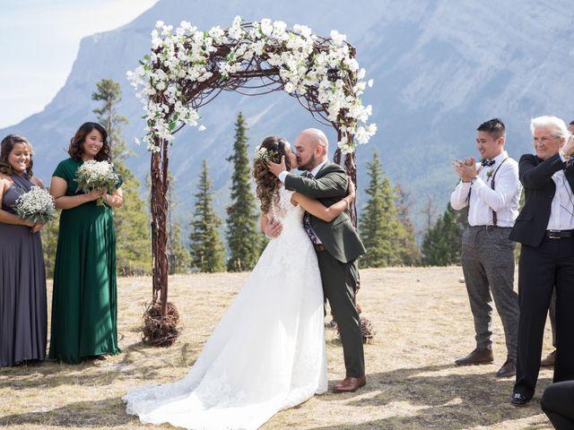 Benjamin and Katrina's wedding in Banff, Alberta 22