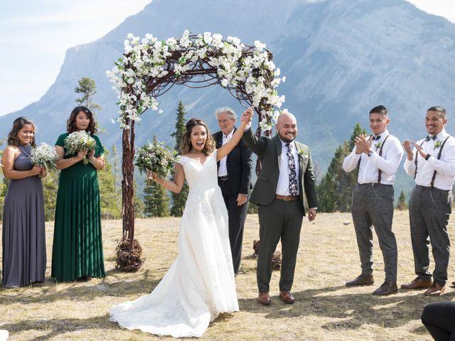 Benjamin and Katrina's wedding in Banff, Alberta 23