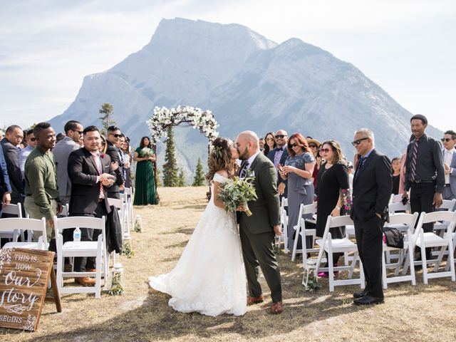 Benjamin and Katrina's wedding in Banff, Alberta 24