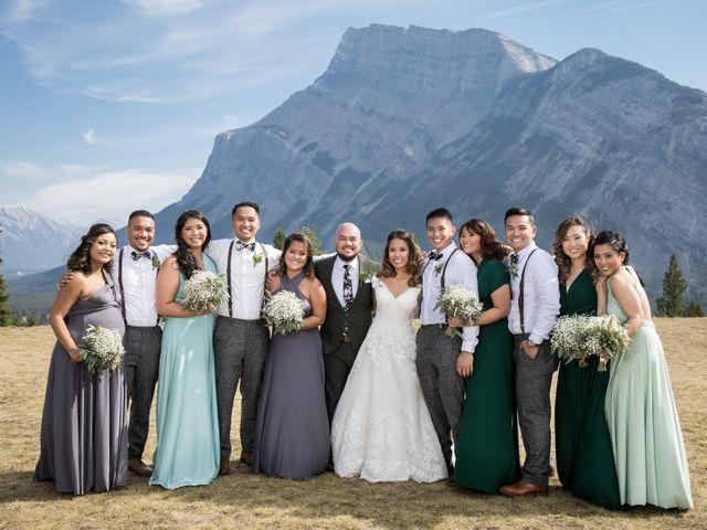 Benjamin and Katrina's wedding in Banff, Alberta 25