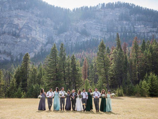 Benjamin and Katrina's wedding in Banff, Alberta 26