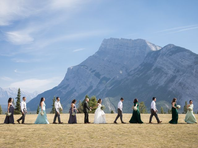 Benjamin and Katrina's wedding in Banff, Alberta 2