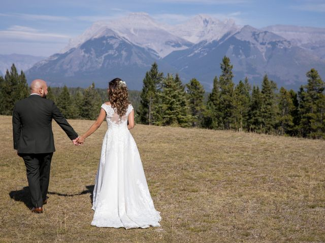 Benjamin and Katrina's wedding in Banff, Alberta 28