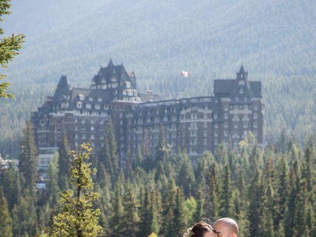 Benjamin and Katrina's wedding in Banff, Alberta 31