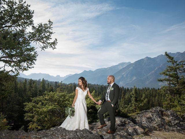 Benjamin and Katrina's wedding in Banff, Alberta 33