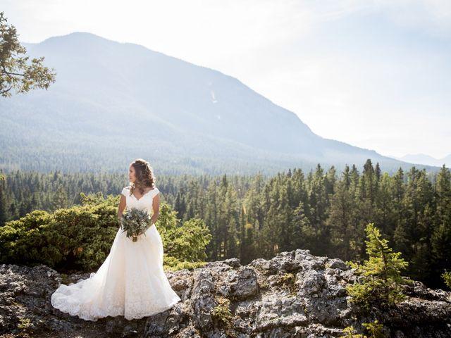 Benjamin and Katrina's wedding in Banff, Alberta 36