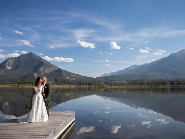 Benjamin and Katrina's wedding in Banff, Alberta 39