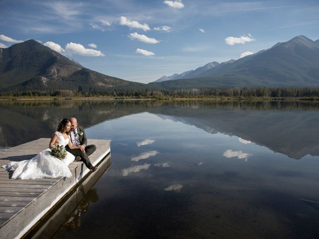 Benjamin and Katrina's wedding in Banff, Alberta 43