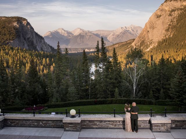 Benjamin and Katrina's wedding in Banff, Alberta 58