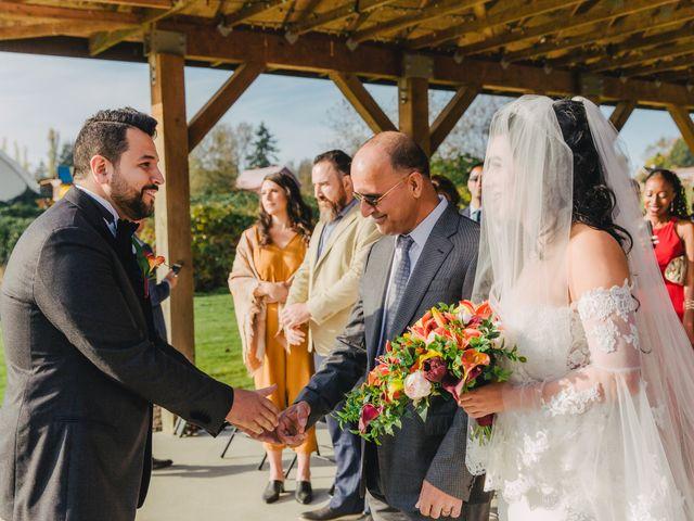 Navid and Kazmeen's wedding in Langley, British Columbia 12