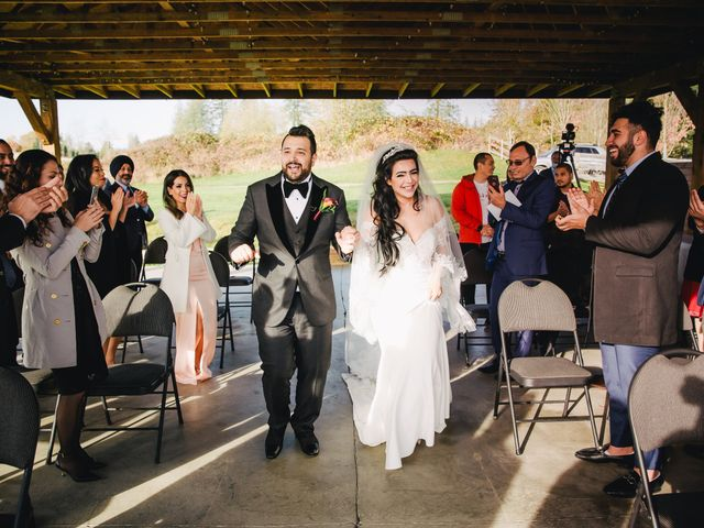Navid and Kazmeen's wedding in Langley, British Columbia 17