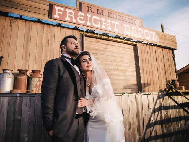 Navid and Kazmeen's wedding in Langley, British Columbia 2