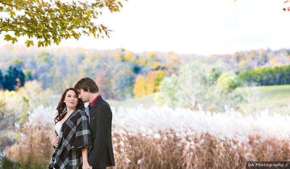 Brett and Veronica's wedding in Orangeville, Ontario