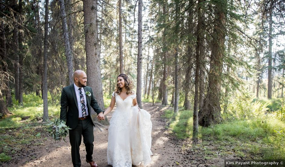 Benjamin and Katrina's wedding in Banff, Alberta