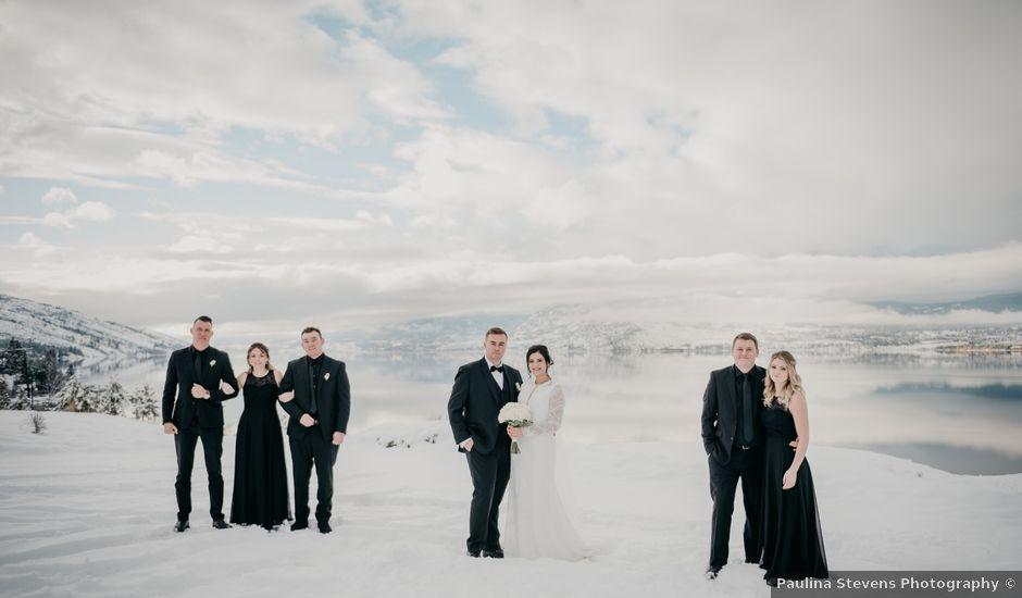 Connor and Janessa's wedding in Kelowna, British Columbia