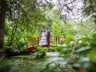 The wedding of Aisha and Matthew