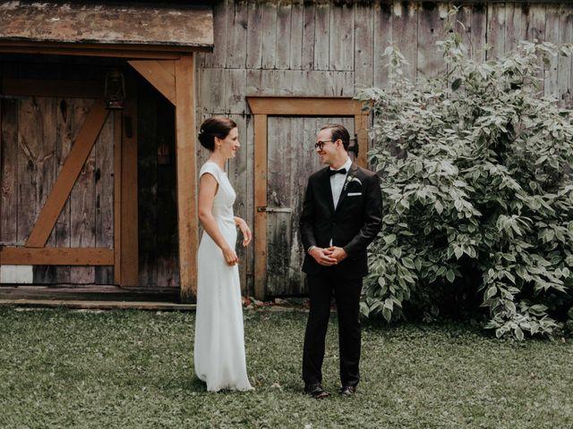 Joe and Ashley's wedding in Saint-Charles-sur-Richelieu, Quebec 8