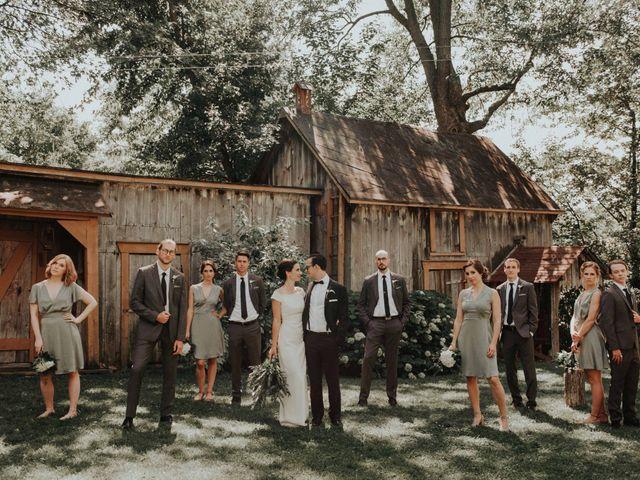 Joe and Ashley's wedding in Saint-Charles-sur-Richelieu, Quebec 11