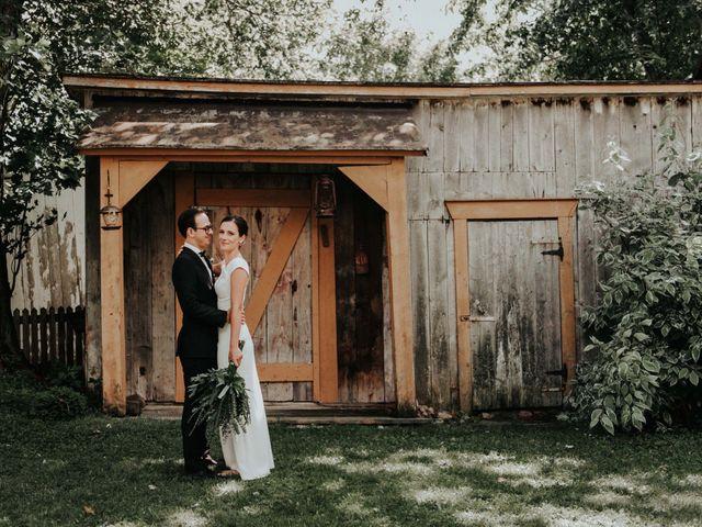 Joe and Ashley's wedding in Saint-Charles-sur-Richelieu, Quebec 1