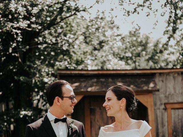 Joe and Ashley's wedding in Saint-Charles-sur-Richelieu, Quebec 20