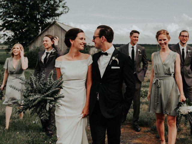 Joe and Ashley's wedding in Saint-Charles-sur-Richelieu, Quebec 2