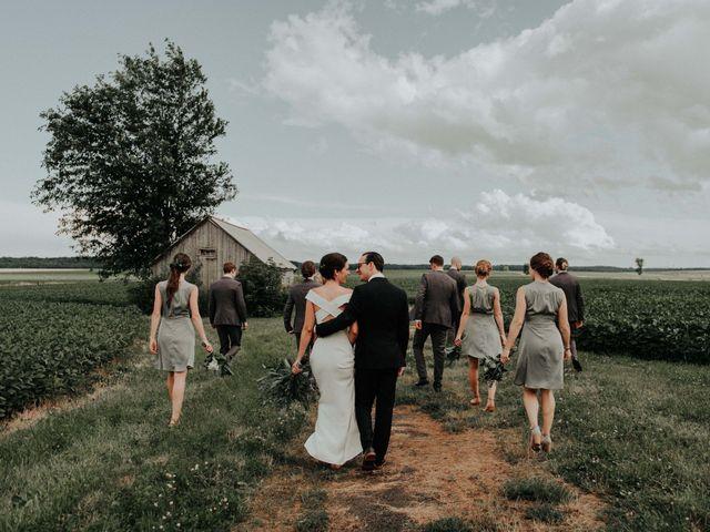 Joe and Ashley's wedding in Saint-Charles-sur-Richelieu, Quebec 23