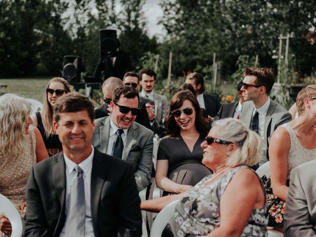 Joe and Ashley's wedding in Saint-Charles-sur-Richelieu, Quebec 30
