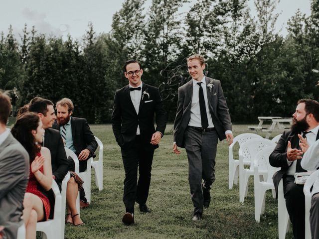Joe and Ashley's wedding in Saint-Charles-sur-Richelieu, Quebec 32