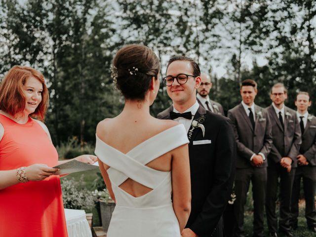 Joe and Ashley's wedding in Saint-Charles-sur-Richelieu, Quebec 40
