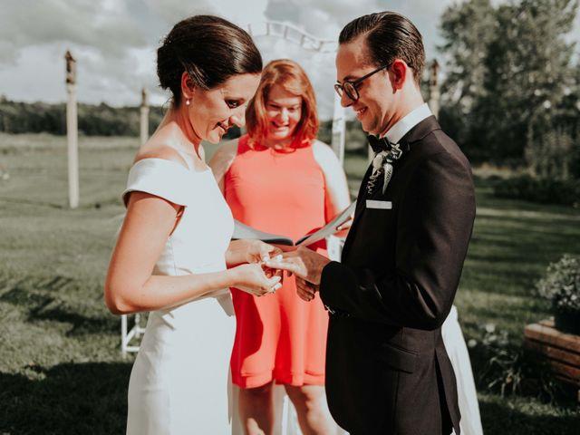 Joe and Ashley's wedding in Saint-Charles-sur-Richelieu, Quebec 45