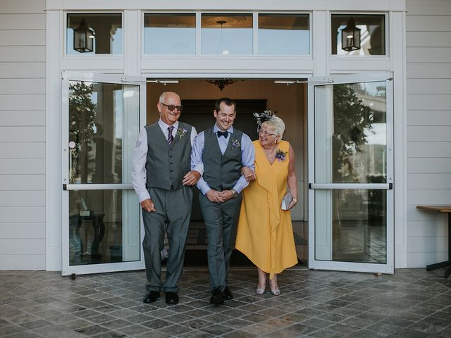 Rich and Ashlee's wedding in Sooke, British Columbia 8