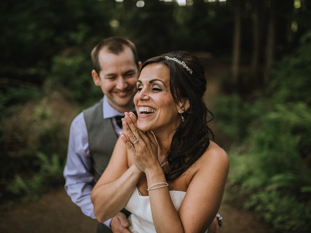 Rich and Ashlee's wedding in Sooke, British Columbia 2