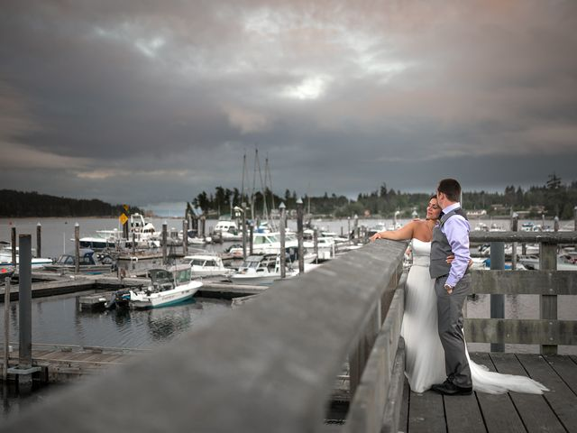 Rich and Ashlee's wedding in Sooke, British Columbia 26