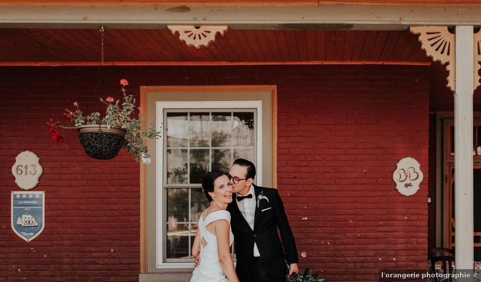 Joe and Ashley's wedding in Saint-Charles-sur-Richelieu, Quebec