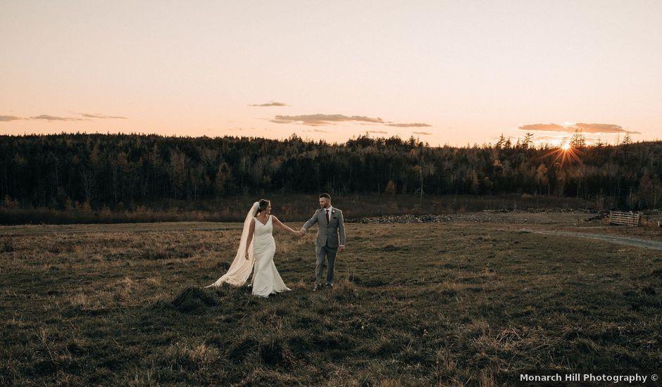 Ricky and Alice's wedding in Halifax, Nova Scotia