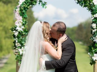 The wedding of Melanie and Matt