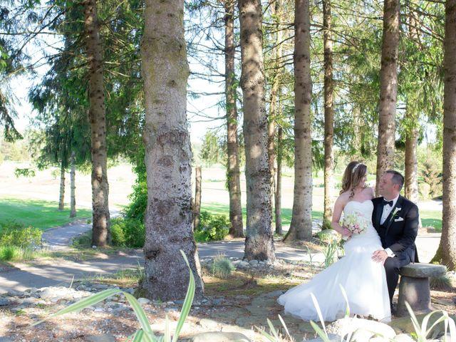 Matt and Melanie's wedding in Langley, British Columbia 1