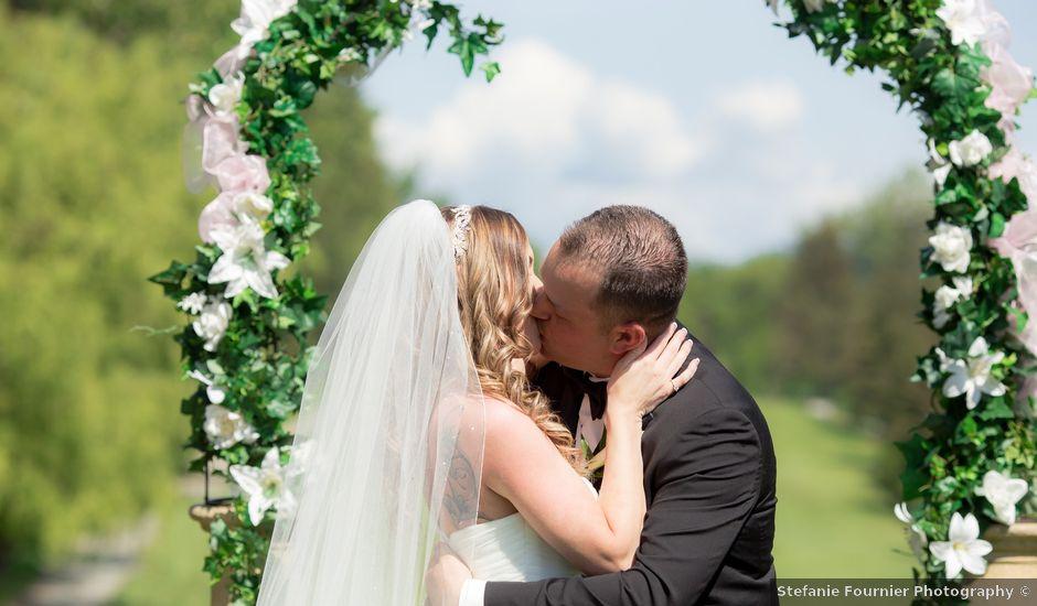 Matt and Melanie's wedding in Langley, British Columbia